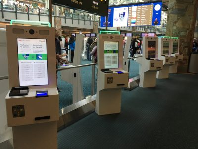 Automated Border Clearance Self-Serve Kiosks
