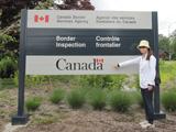 カナダ-アメリカ国境でのビザ書き換えまでサポートしてくれました